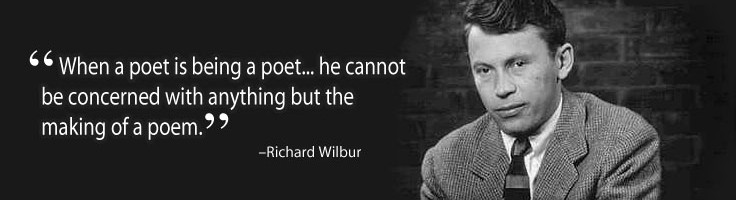 richard wilbur the writer analysis The writer richard wilbur's poem the writer, he explores the idea of internal struggle the speaker, sits in the role of parent, as his daughter wrestles with the.